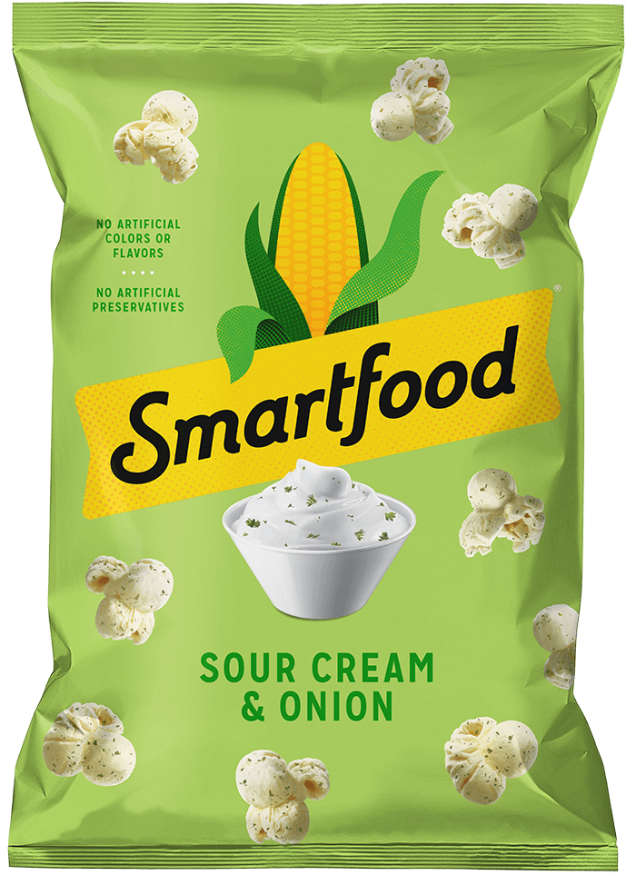 SMARTFOOD® Sour Cream & Onion Flavored Popcorn